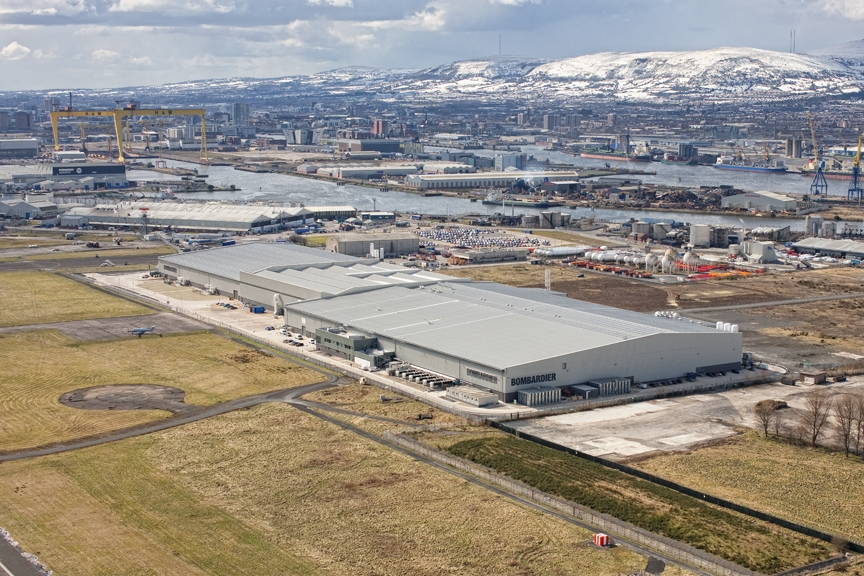 Bombardier Aerospace advanced manufacturing facility, Belfast, UK