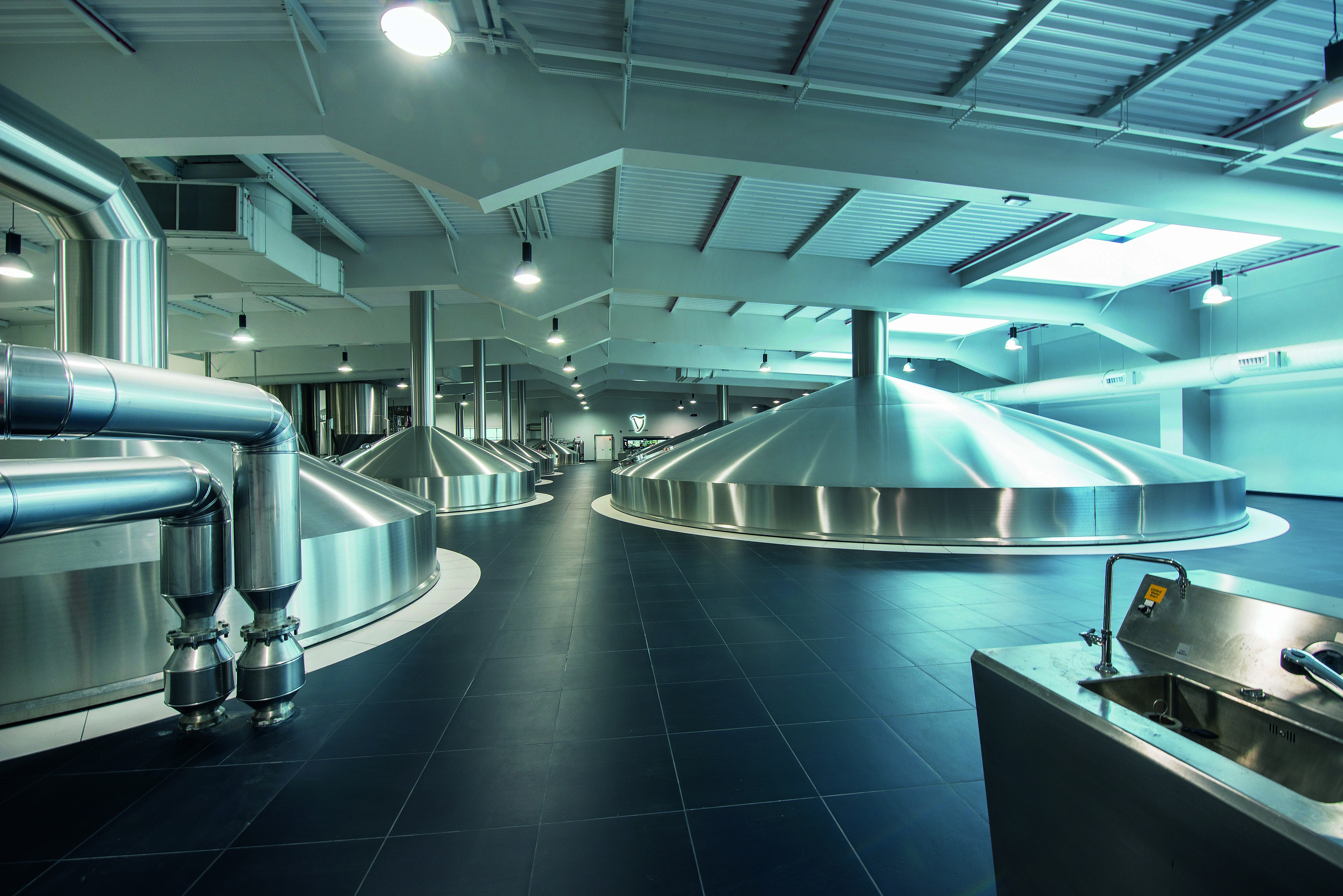 Diageo brewery facility, Dublin, Ireland