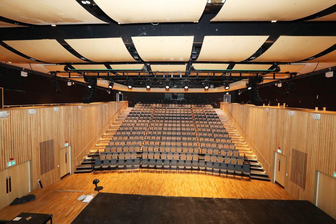 East Quad performance hall