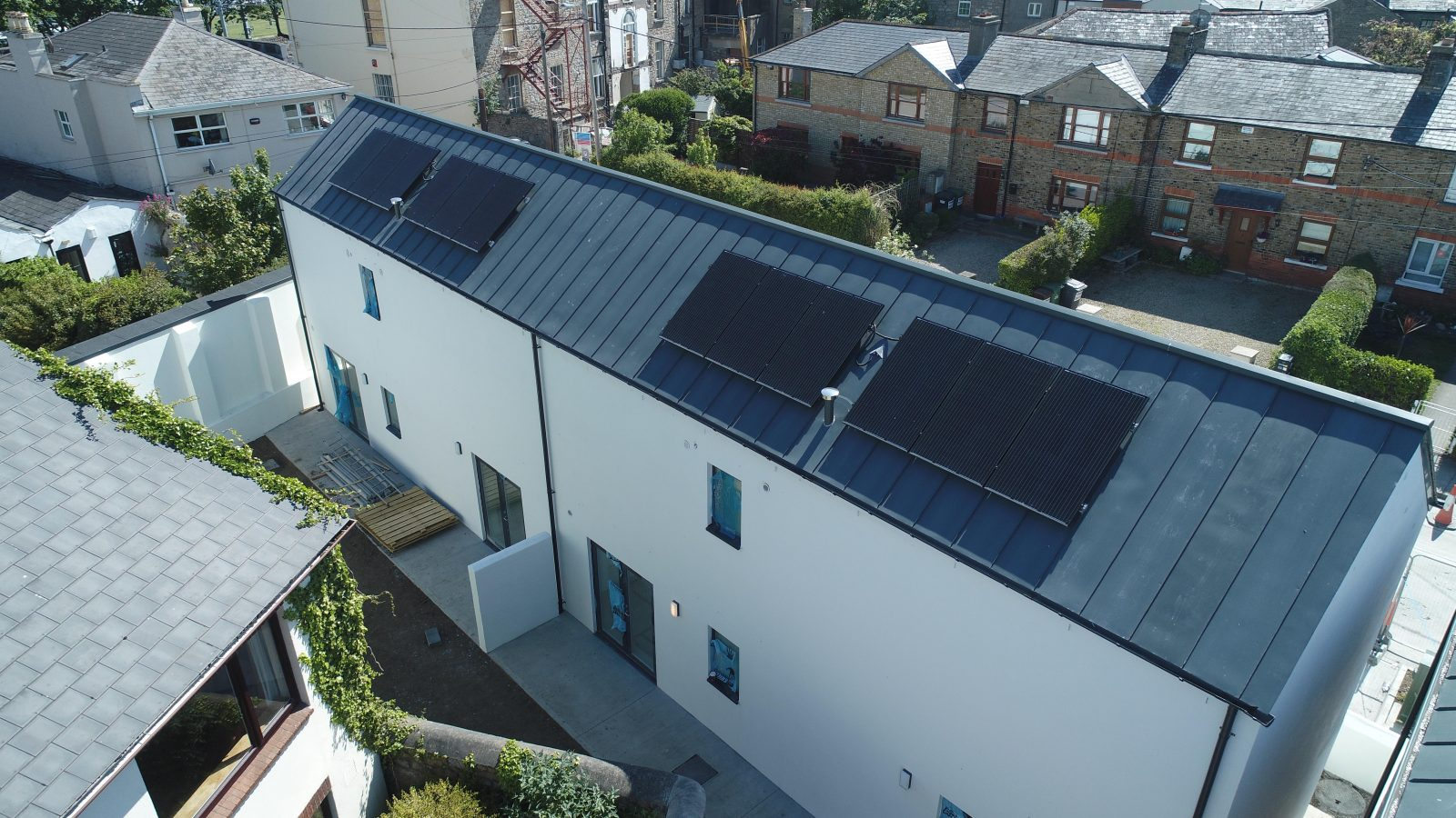 Solar panels fitted at George's Place