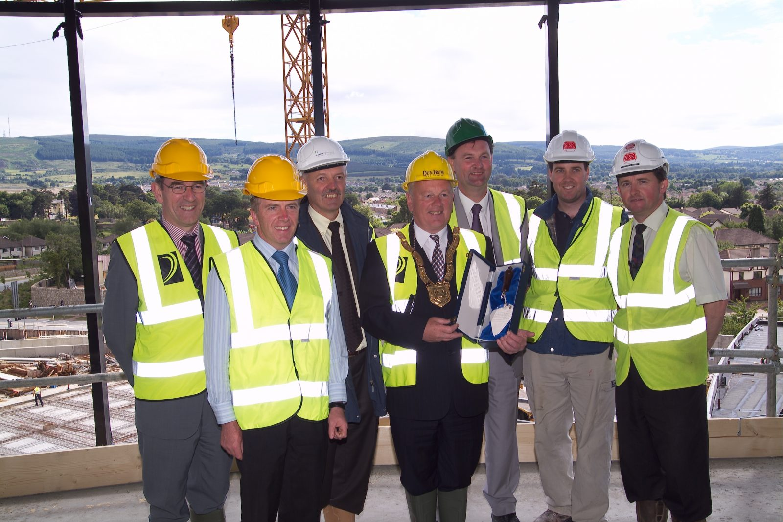 Dundrum Town Centre topping out ceremony