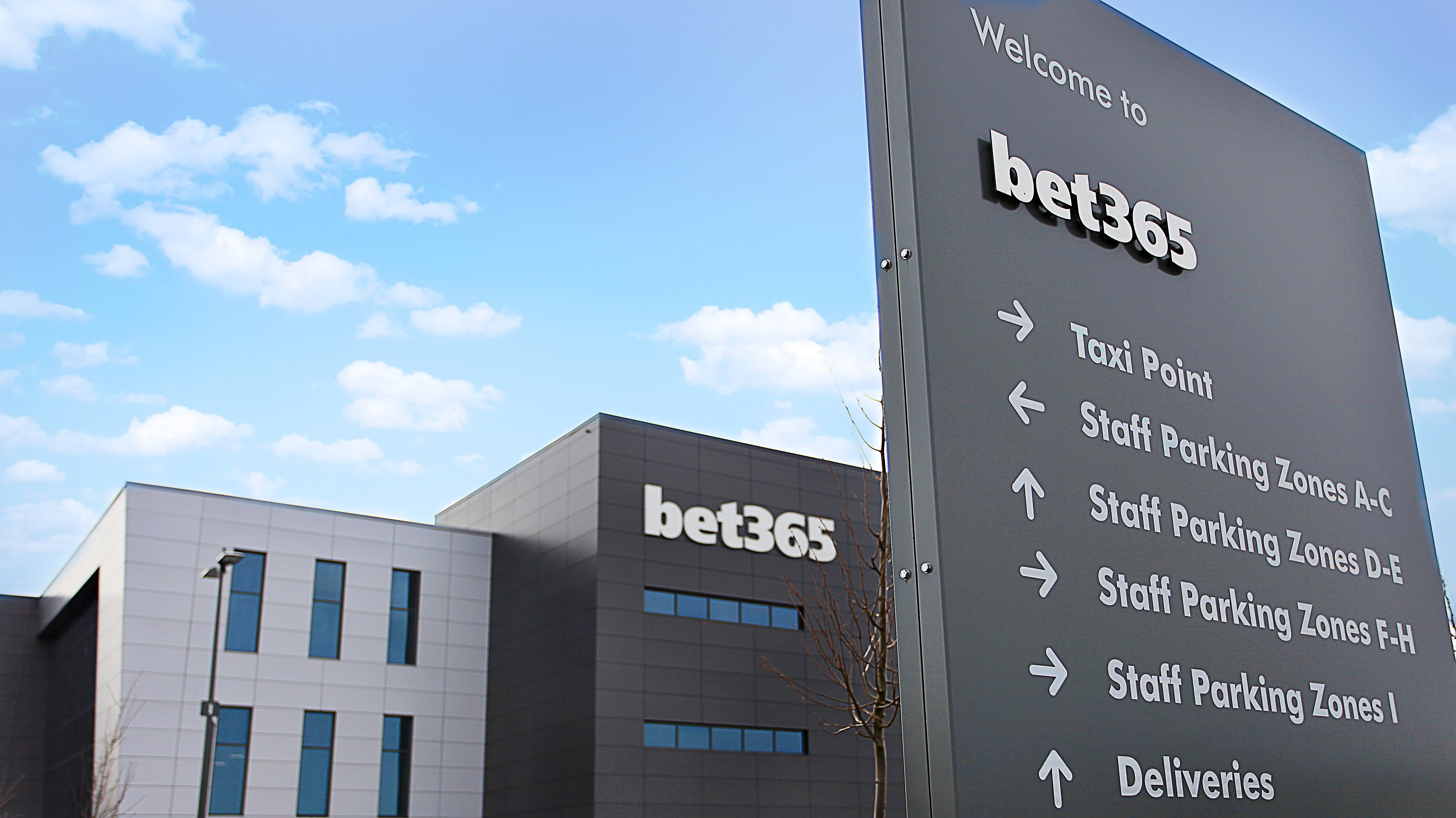bet365 corporate office, Stoke-on-Trent, UK